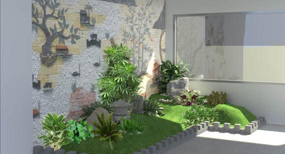Hương và sắc khu vườn theo phong thủy