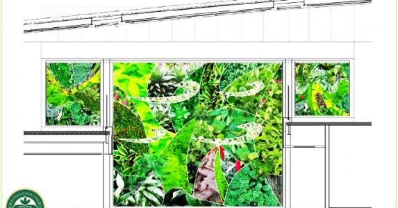 Thiết kế thi công tường xanh